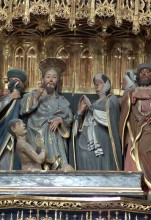Resurrección de Lázaro (Retablo)