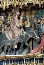 Entrada de Jesús en Jerusalén (Retablo)