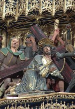 Caída con la Cruz (Retablo)