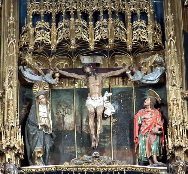 Crucifixión (Retablo)