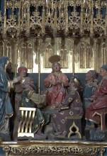 Jesús en el templo con los doctores (Retablo)