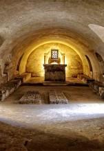 Cripta de Santa Leocadia (Claustro Gótico)