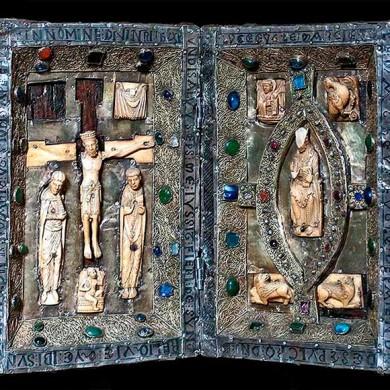 Díptico Románico Interior (Museo)