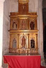 Retablo de San Juan Bautista (Capillas)