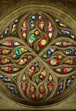 Rosetón Norte (Catedral Interior)