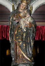 Virgen de la Leche (Catedral Interior)