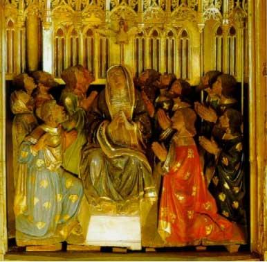 Fiesta de Petecontés. Catedral de Oviedo